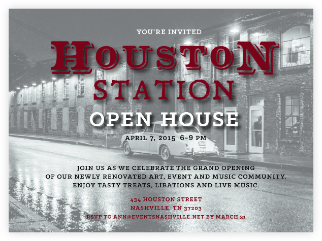 Houston Station Open House