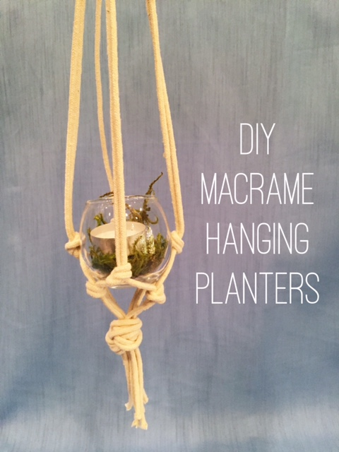 Hanging Planter DIY